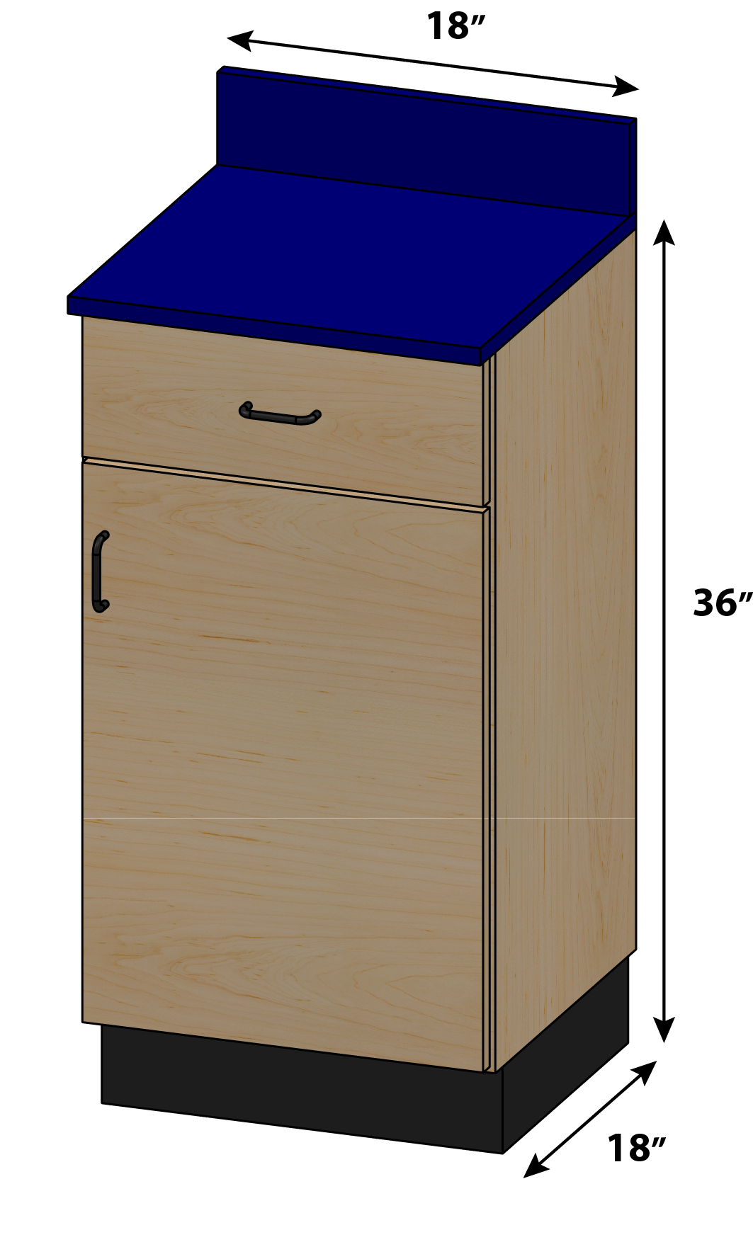 Stor-Edge Medical Base Cabinets