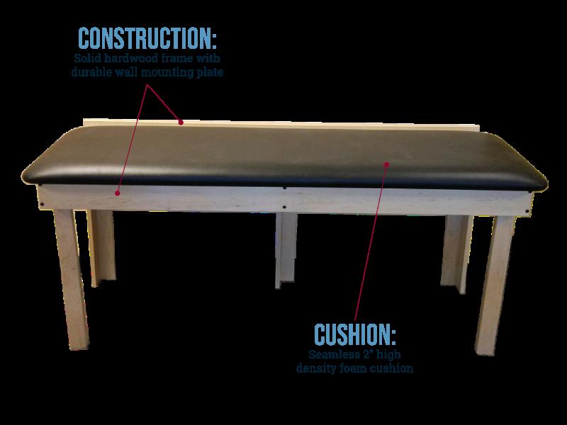 Wall Mount Folding Treatment Table