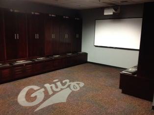 University of Montana Locker Room