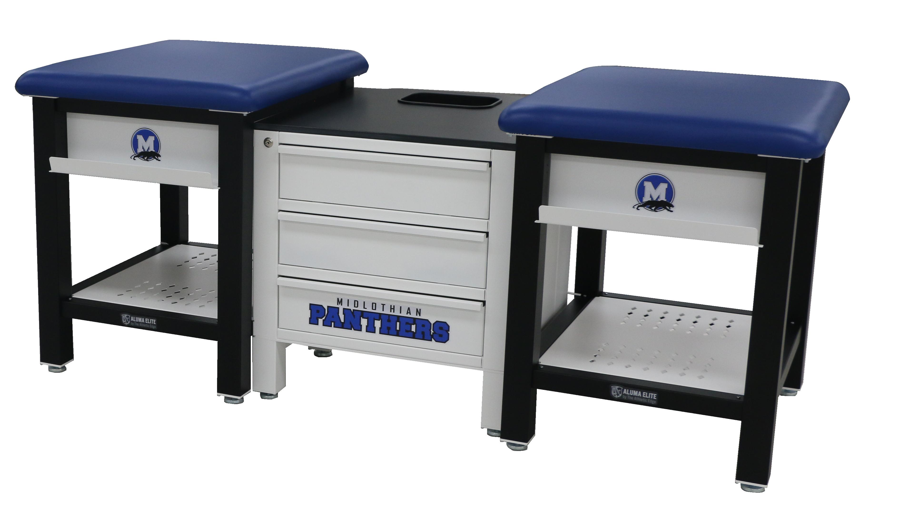 Midlothian HS-(Aluma Elite 2 seat Taping Station)
