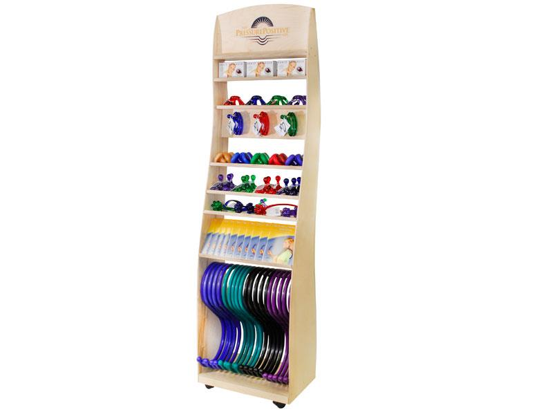 Roller Floor Display Rack Filled (64 tools)