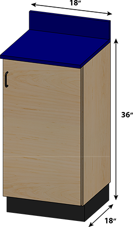 SEMCB-001 Base Cabinet