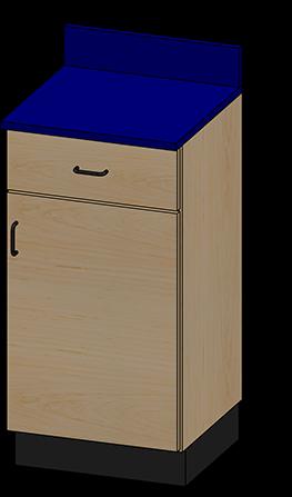 SEMCB-001-1D Base Cabinet