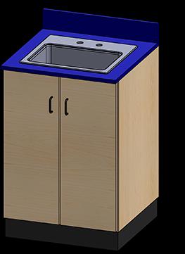 SEMCB-003-Sink Base Cabinet