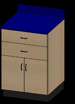 SEMCB-004-2D Base Cabinet