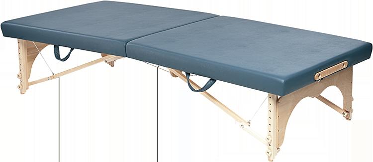 Portable Wood Mat Table
