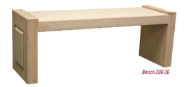 Wood Bench 200