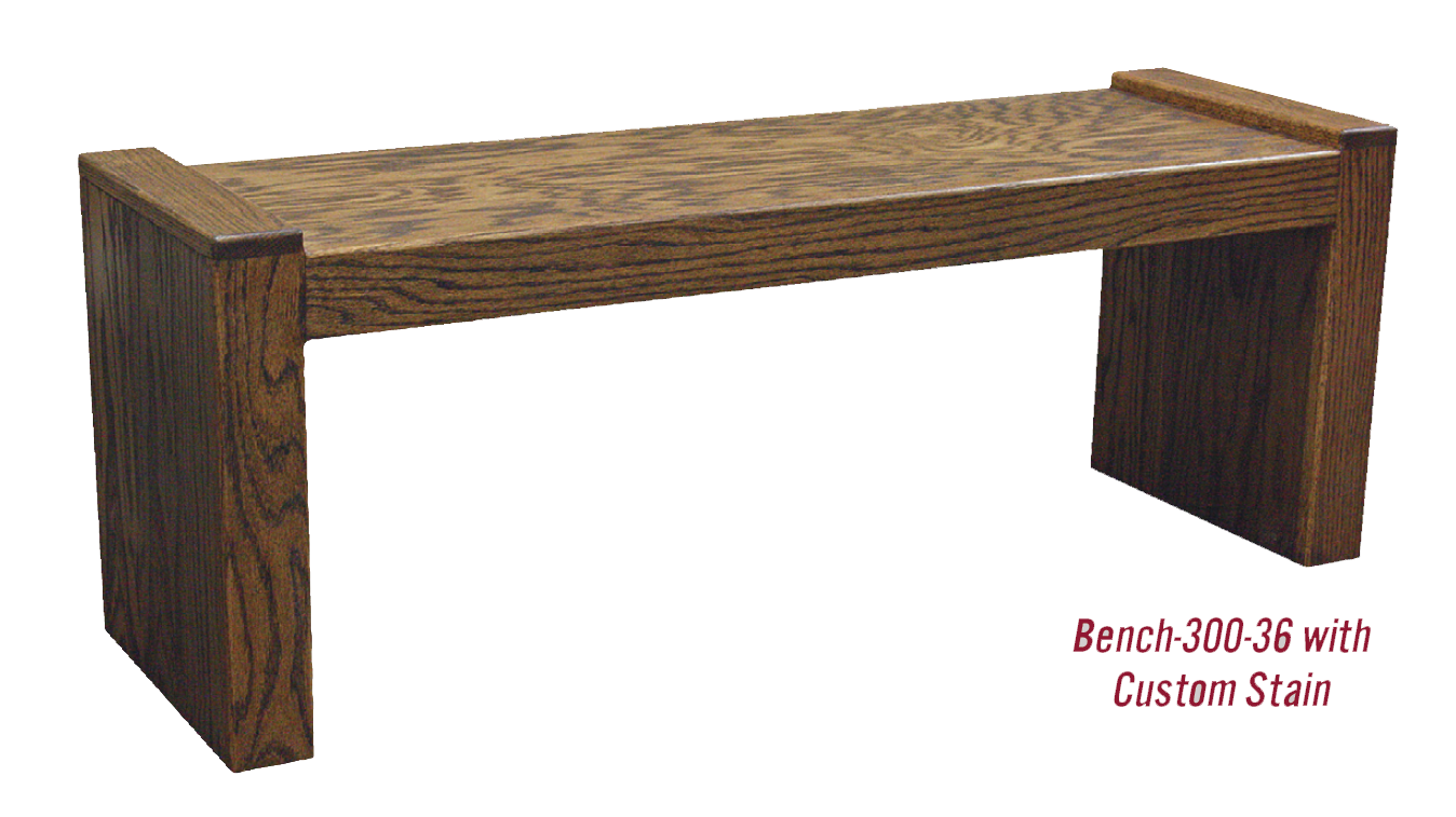 Wood Bench 300