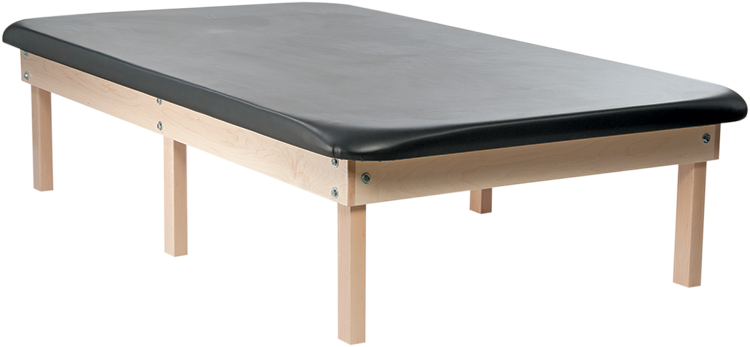 Edge Sport  6 Leg Wood Mat Table