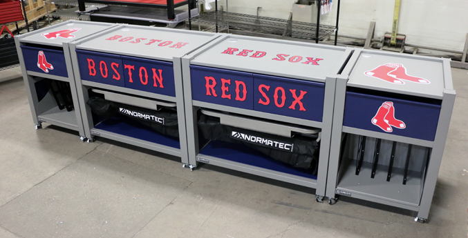 CUSTOM RECOVERY CART FOR THE BOSTON RED SOX