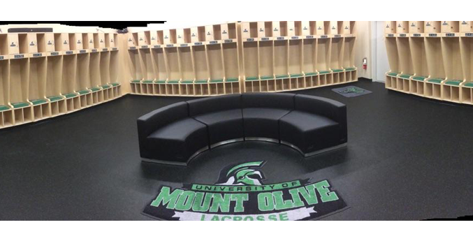 UNIVERSITY OF MOUNT OLIVE WOMEN'S LACROSSE LOCKER ROOM