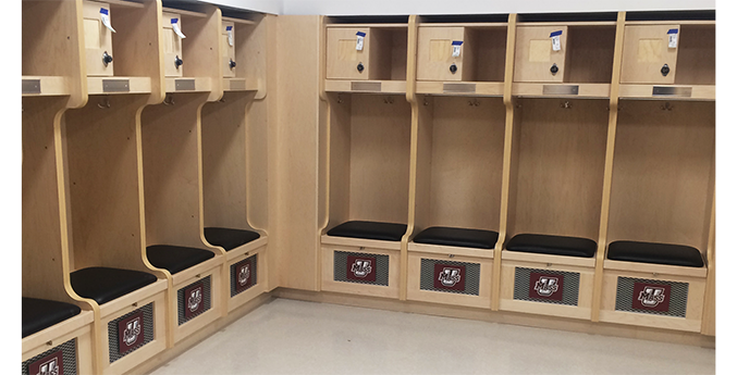 UNIVERSITY OF MASSACHUSETTS LOCKER INSTALLATION
