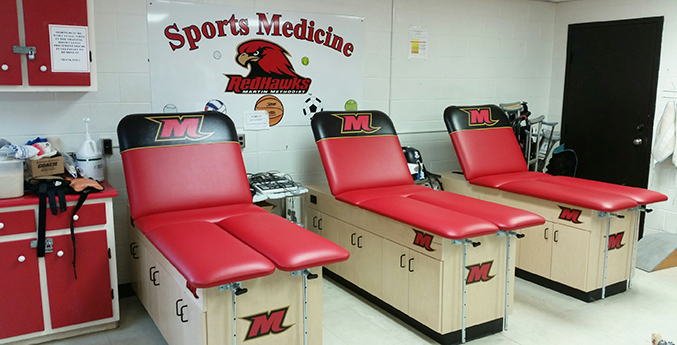 MARTIN METHODIST COLLEGE TREATMENT CABINETS