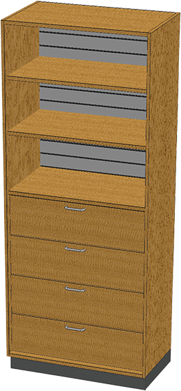 SC-014 Stor-Edge Stationary Cabinet