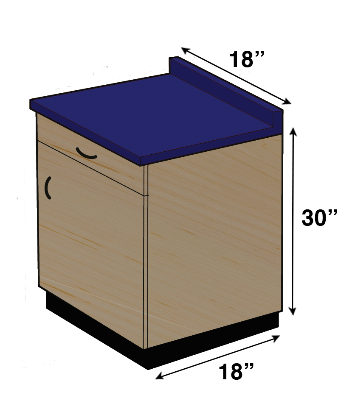 SC-001 Base Cabinet
