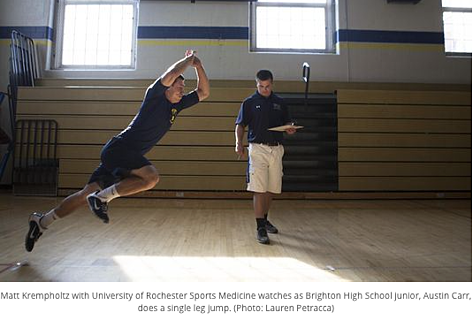 Analyze Athletes' Injuries, Performance With New Tech